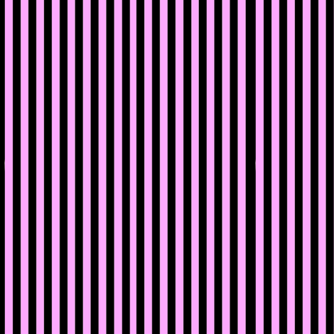 Pink and Black Stripes fabric by whimzwhirled on Spoonflower - custom fabric