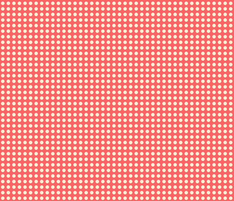 red polka dots fabric by mytinystar on Spoonflower - custom fabric