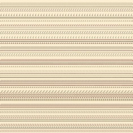 Love in Stripes fabric by petals_fair_(peggy_brown) on Spoonflower - custom fabric