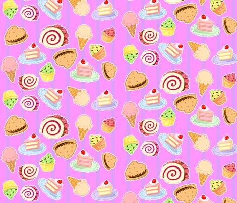 Sweets 2 fabric by jadegordon on Spoonflower - custom fabric