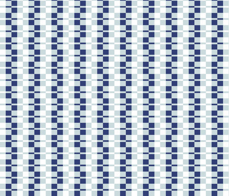 Deco - Indigo Check fabric by kristopherk on Spoonflower - custom fabric