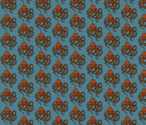 Octopus fabric by jadegordon on Spoonflower - custom fabric
