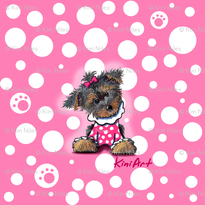 Small Yorkie Girlie Girl