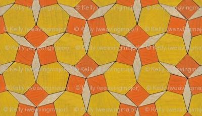 pattern blocks - daffodils