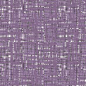 Lilac Ribbon Weave