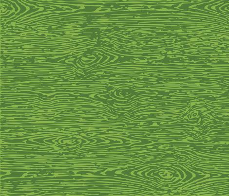 FauxBois: Green on Green fabric by sammyk on Spoonflower - custom fabric