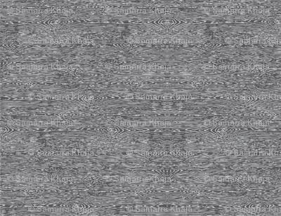 Faux Bois: Grey on Grey