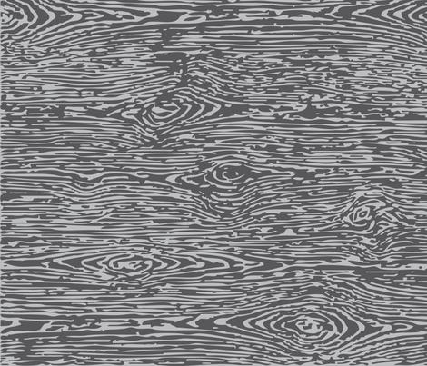 Faux Bois: Grey on Grey fabric by sammyk on Spoonflower - custom fabric