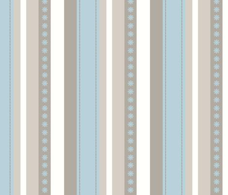 Turquoise Daze-Stripes fabric by crystalgillis on Spoonflower - custom fabric