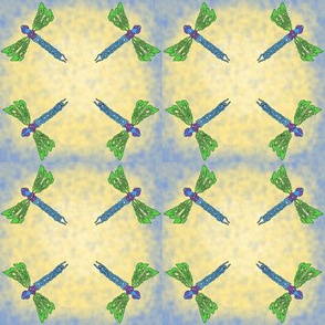 Celtic dragonflies tile