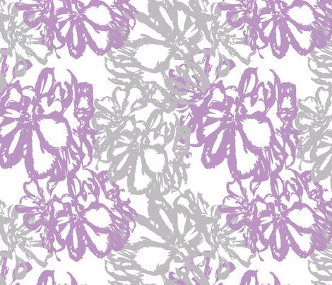 Geraniums fabric by cksstudio80 on Spoonflower - custom fabric