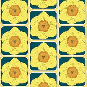daffodil party blue
