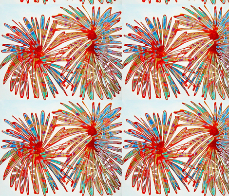 Fireworks fabric by bright on Spoonflower - custom fabric