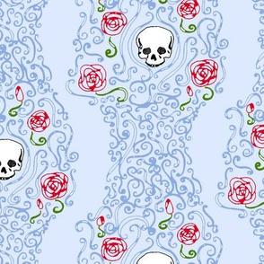 Where the Wild Roses Grow (Light Blue)