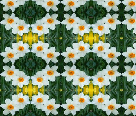 edit_3_stretch_daffodils fabric by khowardquilts on Spoonflower - custom fabric