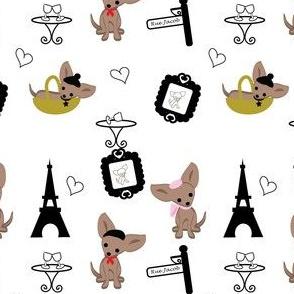 Chihuahuas in Paris