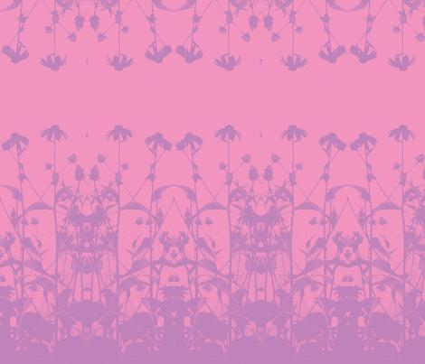 Garden2009pink-purple fabric by dragonflyfae on Spoonflower - custom fabric