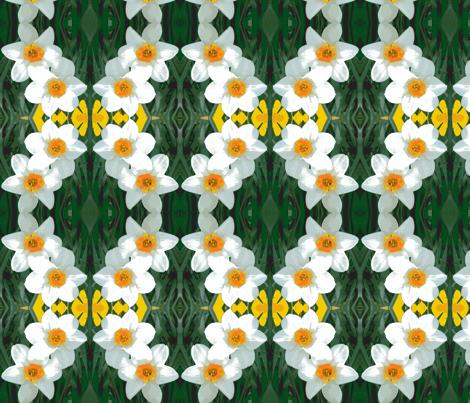 edit_4_daffodils-ch-ch-ch fabric by khowardquilts on Spoonflower - custom fabric