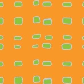 wavy tangerine