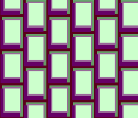 Golden Ratio - Mauve Blocks fabric by jazilla on Spoonflower - custom fabric
