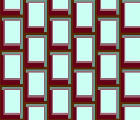 Golden Ratio - Sea Rouge Blocks fabric by jazilla on Spoonflower - custom fabric