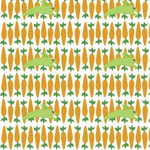 Gwennie The Bun: Gwen With Carrots