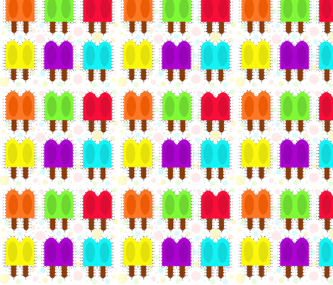 Join the Dots Twin Popsicle fabric by dorolimited on Spoonflower - custom fabric
