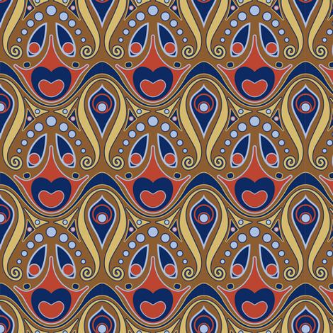 artnouveau1 fabric by mzdori on Spoonflower - custom fabric