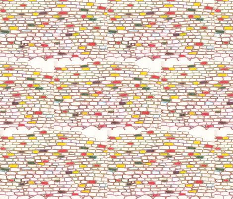 JamJax Brick Wall fabric by jamjax on Spoonflower - custom fabric