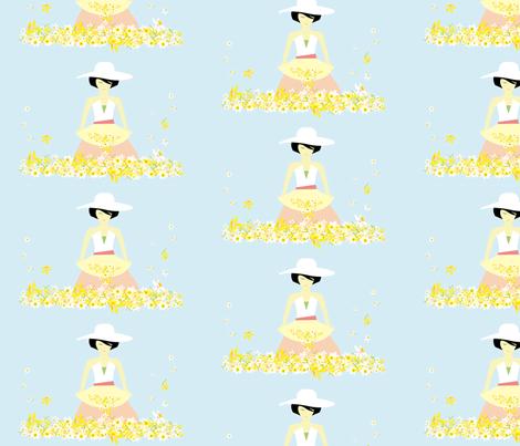 daffodil_dreams fabric by sandideimes on Spoonflower - custom fabric