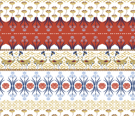 Plumage fabric by mandyh on Spoonflower - custom fabric