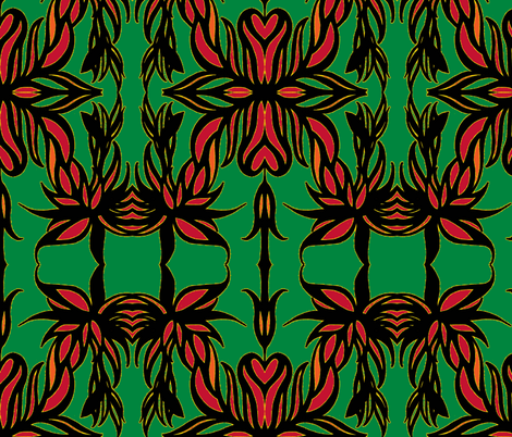 JamJax  Woops Garden fabric by jamjax on Spoonflower - custom fabric