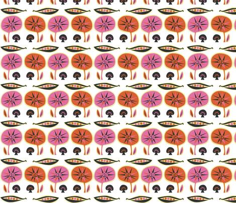 orange_mushroom fabric by antoniamanda on Spoonflower - custom fabric