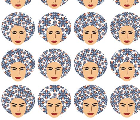 Figura_rosto_1 fabric by lequotidiendelu on Spoonflower - custom fabric