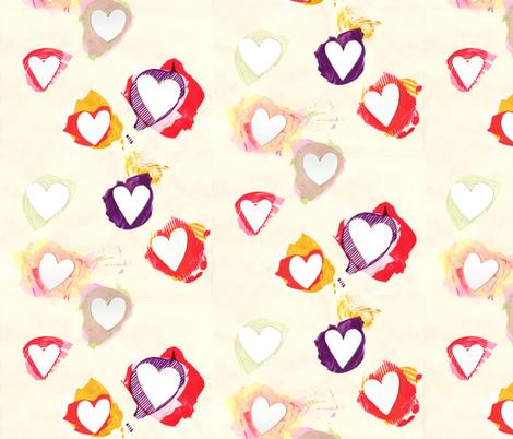heart_cutout fabric by leonielovesyou on Spoonflower - custom fabric