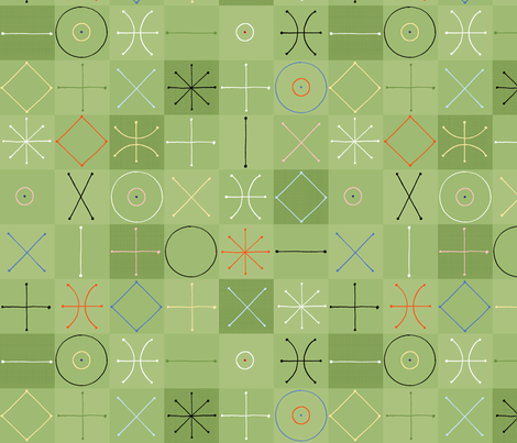 Modquilt (Spring) fabric by artcafe on Spoonflower - custom fabric