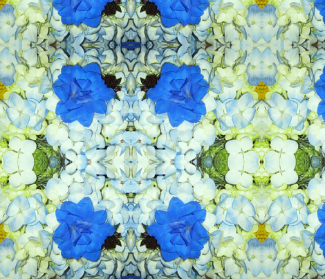Wedding Bouquet1 fabric by frances_hollidayalford on Spoonflower - custom fabric