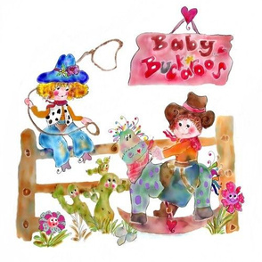 Baby Buckaroos by Rosanna Hope