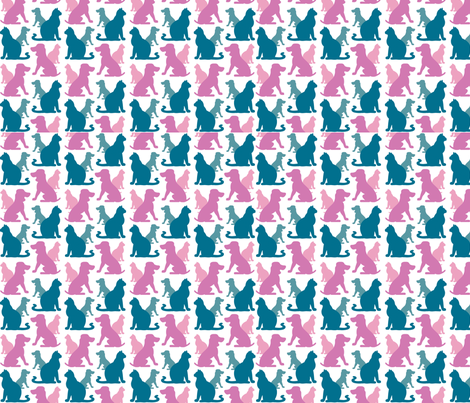 cats-dogs_pattern fabric by dmicheli on Spoonflower - custom fabric