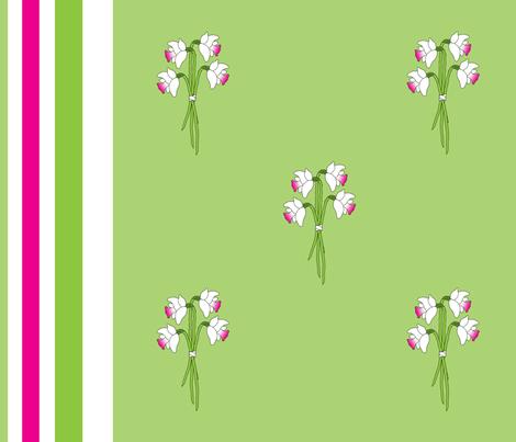 Daffodil days fabric by annaoni on Spoonflower - custom fabric