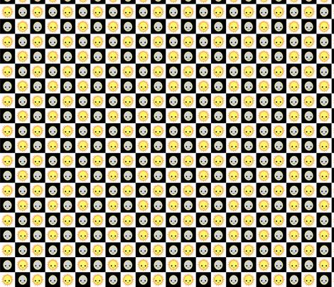 Night and Day fabric by kiwicuties on Spoonflower - custom fabric