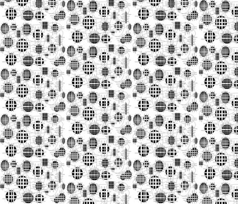 JamJax Fenced  fabric by jamjax on Spoonflower - custom fabric
