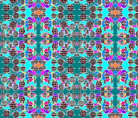 JamJax Fenced In Color fabric by jamjax on Spoonflower - custom fabric