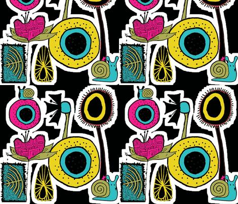 dirtysnailsanddaffodils fabric by sbd on Spoonflower - custom fabric