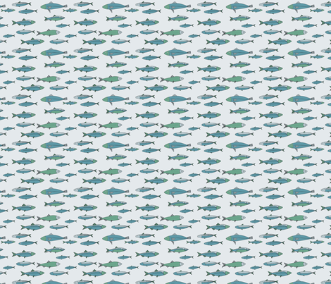 fish_repeat fabric by phatsheepfabrics on Spoonflower - custom fabric