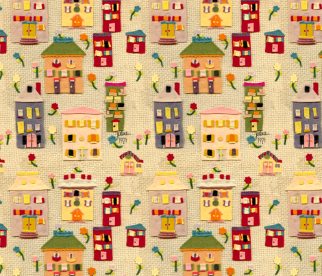 Julie 1971 fabric by juliamonroe on Spoonflower - custom fabric
