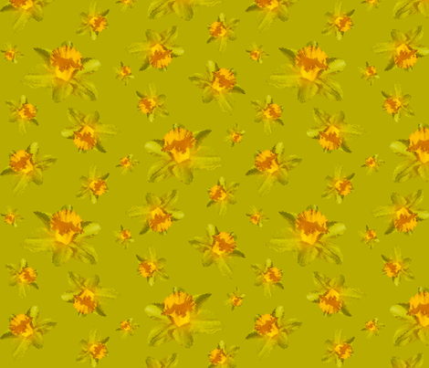 Daffolicious fabric by beenishz on Spoonflower - custom fabric