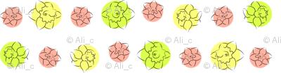 daffodil dots