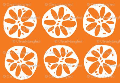 orange lotus root