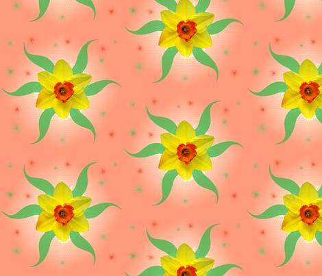 daffodil fabric by nicholeann on Spoonflower - custom fabric